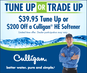 tune up or trade up culligan equipment